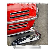 Classic Impala In Red Shower Curtain