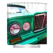 Classic Jeep J3000 4 Wheel Drive By Sharon Cummings Shower Curtain