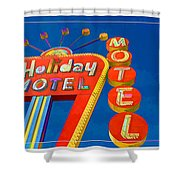 Classic Old Neon Signs Shower Curtain