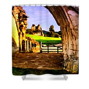 Classic Painting Shower Curtain