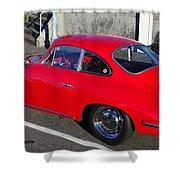 Classic Porsche 356c Shower Curtain