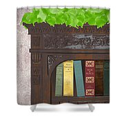 Classic Reads Shower Curtain