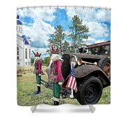 Classic Ride Shower Curtain