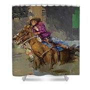 Classic Rodeo 3b Shower Curtain