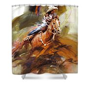 Classic Rodeo 6 Shower Curtain