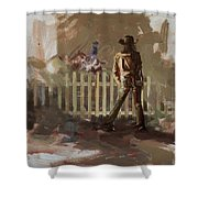 Classic Rodeo 9 Shower Curtain