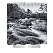 Classic Sedona Shower Curtain by Darren  White