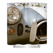 Classic Sports Car Shower Curtain