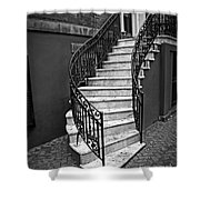 Classic Staircase Shower Curtain