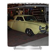 Classic Studebaker Shower Curtain