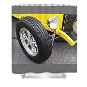 Classic Tire Tread Shower Curtain
