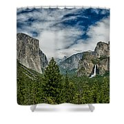 Classic Tunnel View Shower Curtain