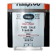 Classic Vintage Gilbarco Phillips 66 Gas Pump Dsc02751 Shower Curtain