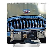 Classic Yellow 49' Buick Eight Shower Curtain