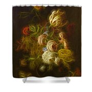 Classica Modern - M01 Shower Curtain by Variance Collections