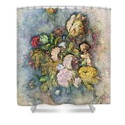 Classical Bouquet - V01c Shower Curtain