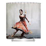 Classical Dance Art 11 Shower Curtain