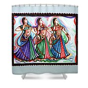 Classical Dance1 Shower Curtain