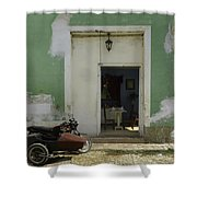 Classical Dining For Two.. Shower Curtain
