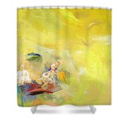 Classical Music Shower Curtain