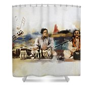 Classical Singers Shower Curtain