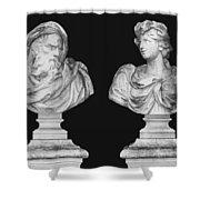 Classics Shower Curtain by Kristin Elmquist