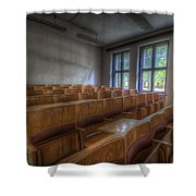 Classroom Seating Shower Curtain