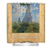 Claude Monet 1 Shower Curtain