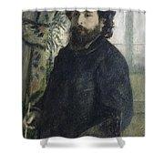 Claude Monet Self-portrait Shower Curtain