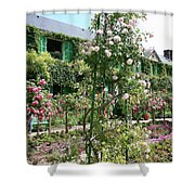 Claude Monets House - Giverney Shower Curtain