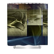 Clavicle Bones Shower Curtain