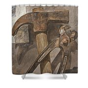 Clawhammer 2 Shower Curtain