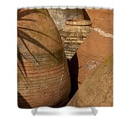 Clay Pots   #7806 Shower Curtain