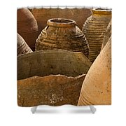 Clay Pots   #7811 Shower Curtain