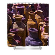 Clay Vases Shower Curtain