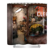 Cleaner - Ny - Chelsea - The Cleaners Shower Curtain