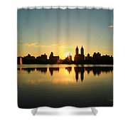 Clear And Smooth Shower Curtain