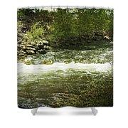 Clear Creek In Colorado Shower Curtain