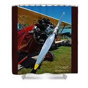 Clear Prop Shower Curtain