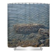 Clear Sea Shower Curtain