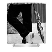 Clear The Hassles  Shower Curtain