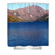 Clear Water Lake Shower Curtain