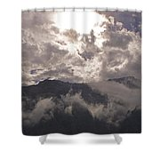 Clearing Clark's Fork Storm Shower Curtain