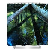 Clearwater Crossroads Shower Curtain