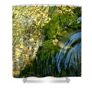 Clearwater Falls Series 11 Shower Curtain