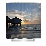 Clearwater Florida Pier 60 Shower Curtain