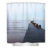 Cleethorpes Shower Curtain