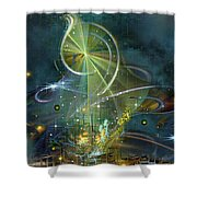Clef Note Shower Curtain