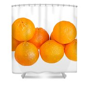 Clementine Oranges Shower Curtain