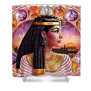 Cleopatra Variant 3 Shower Curtain